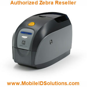 Zebra ZXP Series 1 ID Card Printers Picture