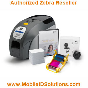 Zebra ZXP Series 3 QuikCard ID Card Solution Picture