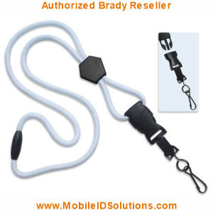 Brady Round DTACH Lanyards Picture