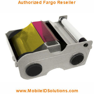 Fargo DTC4250e Color Ribbons Picture