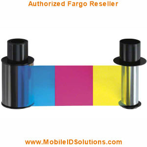 Fargo HDP600 Color Ribbons Picture