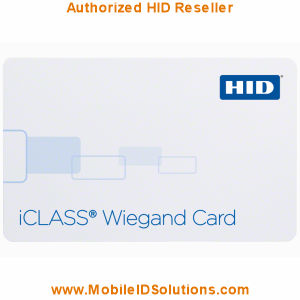 HID 204x iCLASS Wiegand Cards Picture
