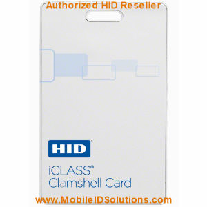 HID 2080 iCLASS Clamshell Cards Picture