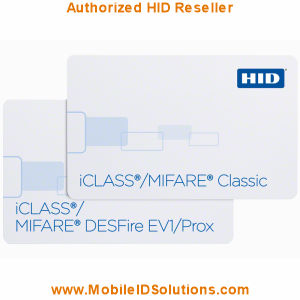 HID 252x iCLASS and MIFARE/DESFire EV1 and Prox Cards Picture