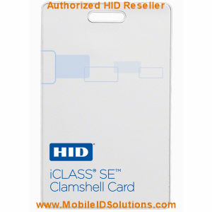HID 3350 iCLASS SE Clamshell Cards Picture