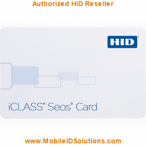 HID 526 iCLASS Seos Key Fobs Picture
