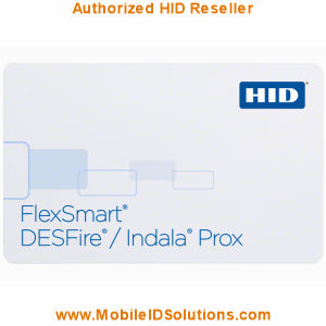 HID FlexSmart MIFARE/Indala Prox Combo Cards Picture