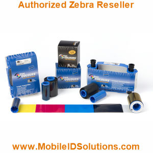 Zebra Card P420i Color Ribbons Picture