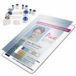 Zebra Card P430i Laminates and Overlays Image