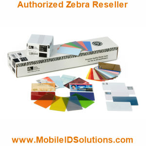 Zebra Card P520i Card Stock Picture