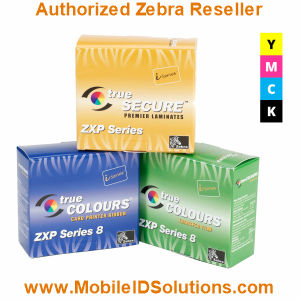 Zebra ZXP Series 8 Color Ribbons Picture
